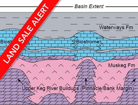 Rainbow Sub-basin Schematic Cross-Section